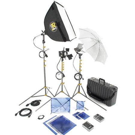 Lowel DV Core Lighting and Accessories Kit TO Case 259 - 244