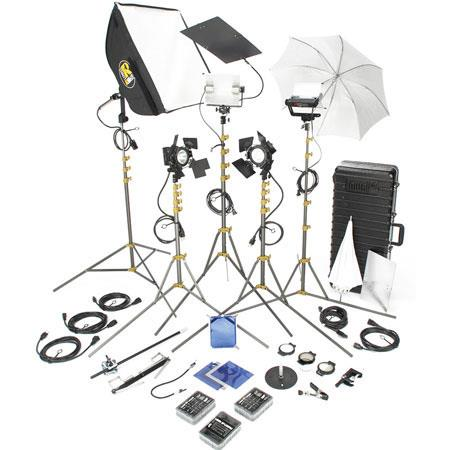 Lowel DV Pro Lighting and Accessories Kit TO Z Case 141 - 644