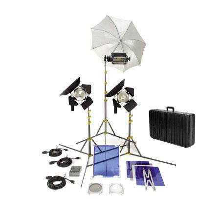 Lowel TO GO OmniTota Kit Quartz Lighting Outfit GO Case 446 - 187