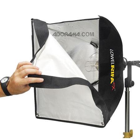 Lowel Rifa LC eX eXchange Lite Watt VAC VDCCollapsible Soft Light System wv FVL Lamp 269 - 396