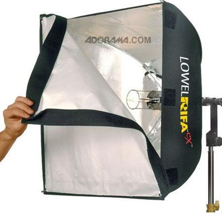 Lowel Rifa LC eX eXchange Lite Watt VACCollapsible Soft Light System wv EHC Lamp 103 - 655