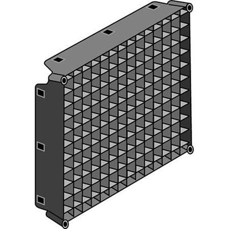 LowelFabric Egg Crate Grid the Rifa Lite  146 - 217