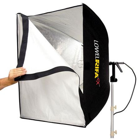 Lowel Rifa LC eX eXchange Lite VACCollapsible Soft Light System 33 - 542