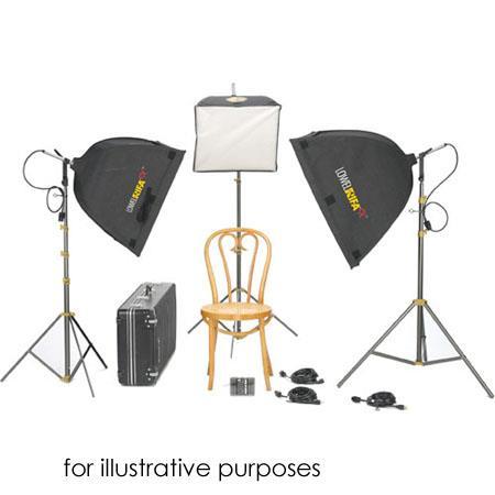 Lowel Rifa Lite Small Triple Soft Kit Quartz Softlight Outfit TO Z TotaOmni Case 117 - 602