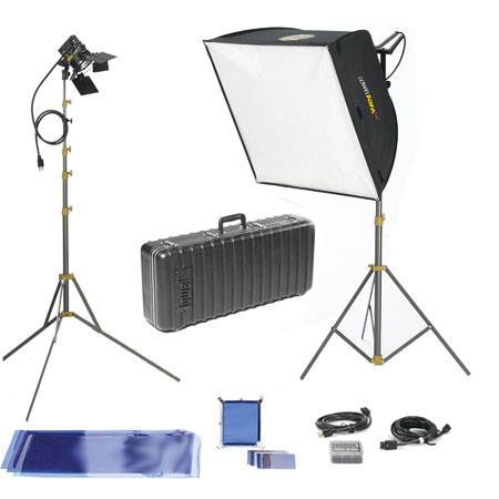Lowel Rifa Lite eX Pro Quartz Kit W V Bulbs TO Hard Case 255 - 21