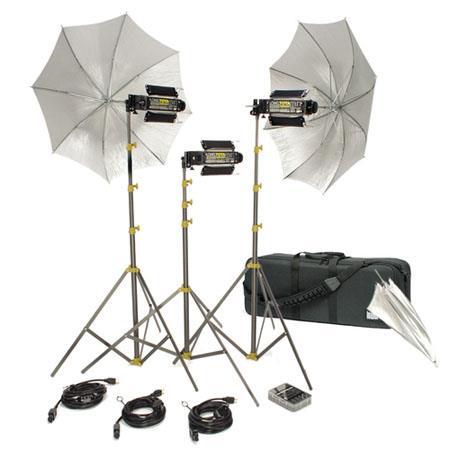 Lowel Trans kit Still Video Photographic Location Lighting Kit LB Soft Case 203 - 675