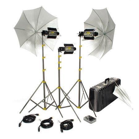 Lowel Trans kit Still Video Photographic Location Lighting Kit TO Case 280 - 243