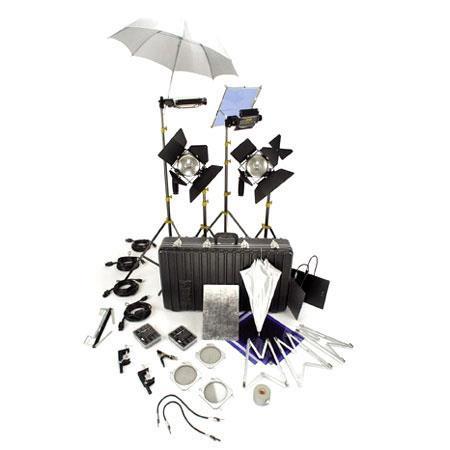 Lowel Ambi Kit Quartz Lighting Outfit Tota Lights Omni Lights Stands Bulbs Accessories 246 - 443
