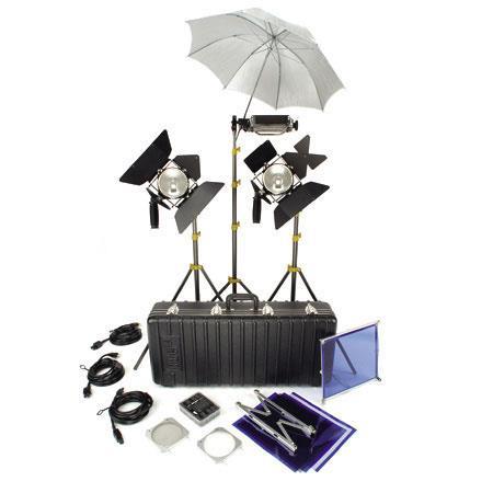 Lowel Elemental Kit Quartz Lighting Outfit TO Case 337 - 192