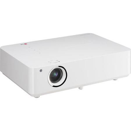 LG BG XGA Portable Projector ANSI Lumens Built Wi Fi HDMI W Mono Built Speakers USB 57 - 279