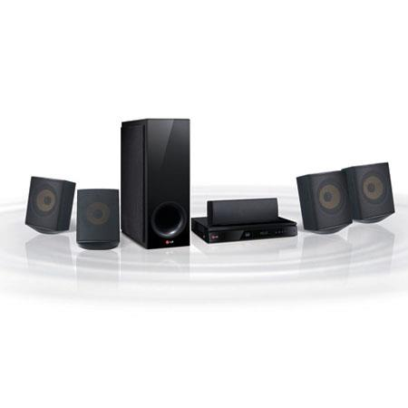 LG BHS Blu ray Home Theater System Wi Fi and Bluetooth W RMS Output Power 129 - 45