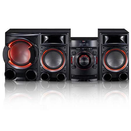 LG CM W Bluetooth Mini Shelf System Dual USB Smart Audio DJ Metal Bass Speaker 131 - 355