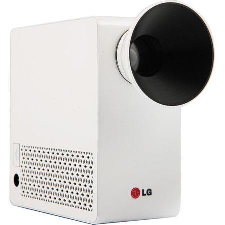LG PGU WXGA LED Projector Built In Digital TV Tuner Lumens Brightness Wi Fi USB Port HDMI 57 - 279