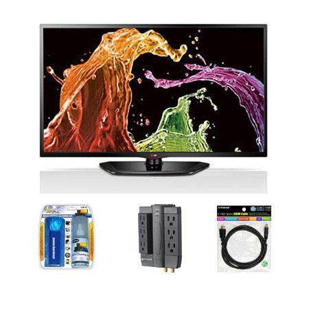 LG LN Class Direct LED HDTV Bundle Sanus Systems ELM Outlet Surge Protector Xtreme Cables HDMI Audio 326 - 178