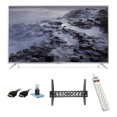LOTLB Class Full HD p LED Smart HDTV Bundle Xtreme Cables Steel Wall Mount Bracket Port Surge Protec 129 - 142