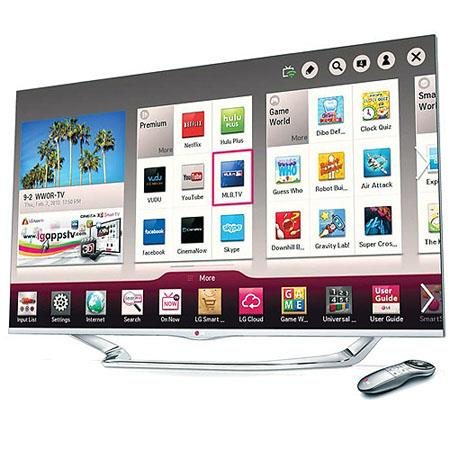 LG LA Cinema D Smart TV Magic Remotep Resolution TruMotion Hz Refresh Rate Dual Core Processor Sound 145 - 207