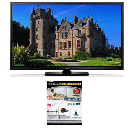 LG PB p Smart Plasma TV Bundle Xtreme Cables Tilt Swivel Wall Mount Kit Supplied Steel Wall BracketH 114 - 554