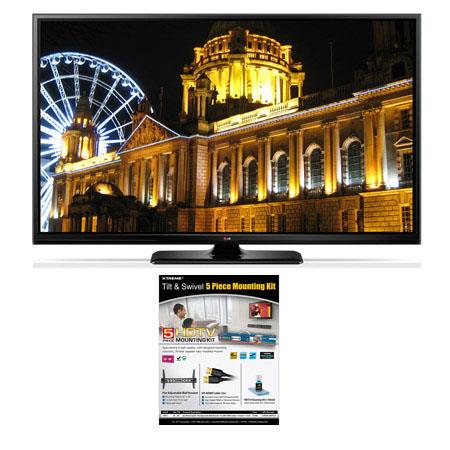 LG PB p Smart D Plasma TV Bundle Xtreme Cables Tilt Swivel Wall Mount Kit Supplied Steel Wall Bracke 56 - 495