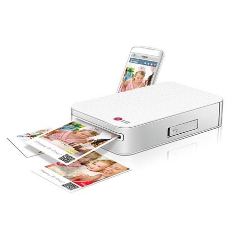LG PD Pocket Photo Printer SmartphonesPrint Size 127 - 55