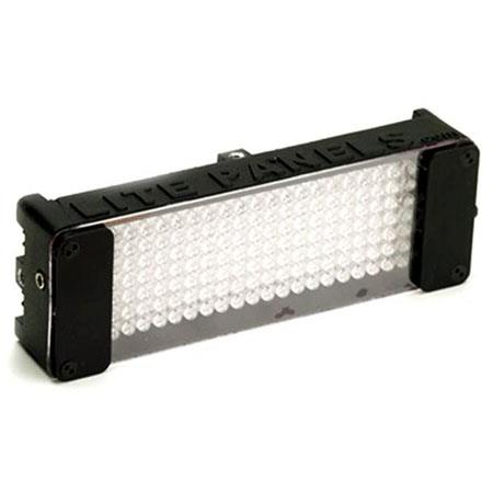 Litepanels MiniPlus LED Daylight Flood Light K VAC VDC Integral Dimmer ACDC Operation 18 - 243