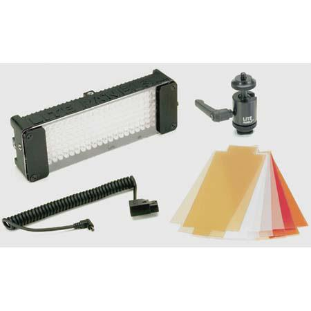 Litepanels Mini On Camera Lite Kit Degree Flood Beam Lite Power Tap Connection 155 - 247
