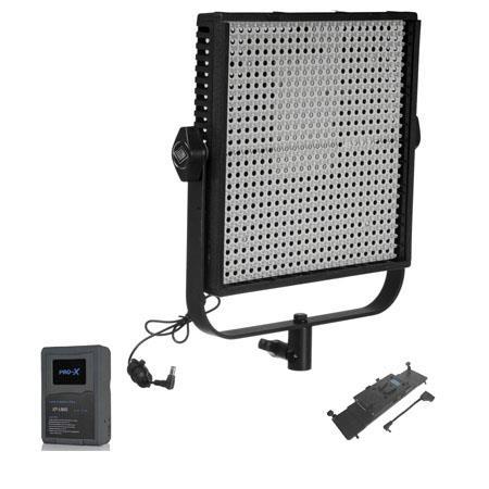LitepanelsLS Daylight LED Panel Fixture Spot Bundle LP V Mount Battery Adapter Plate SwitroniXP LS V 59 - 36