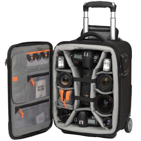 Lowepro Pro RollerMobile Studio Padded Divider System Case Wheels FREE Devo Folding Travel Table Lap 82 - 46