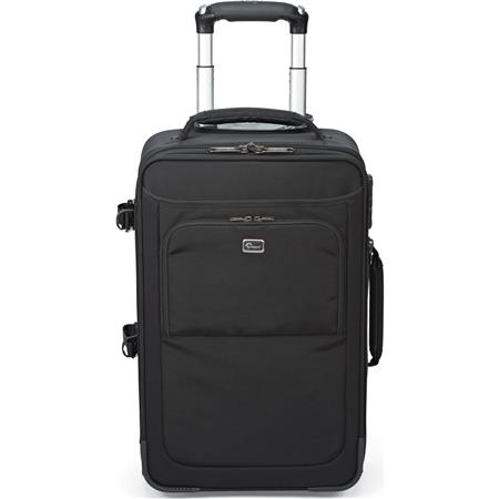 Lowepro Pro RollerAW Rolling Bag Fits Pro DSLRs Grip Lenses Up to a Laptop Small Personal Items Trip 150 - 606