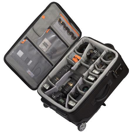 Lowepro Pro RollerMobile Studio Padded Divider System Case Wheels FREE Devo Folding Travel Table Lap 90 - 741