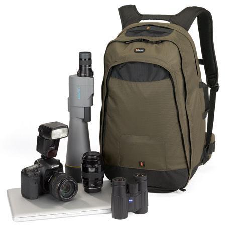Lowepro Scope Photo Travel AW Backpack Dark Olive 128 - 165