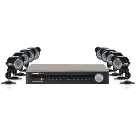 LoreVantage Channel DVR GB Weatherproof Security Camera System 69 - 81