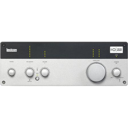 Lexicon IOUSB Desktop Recording Studio MIDI InputOutput bit Converters 166 - 233