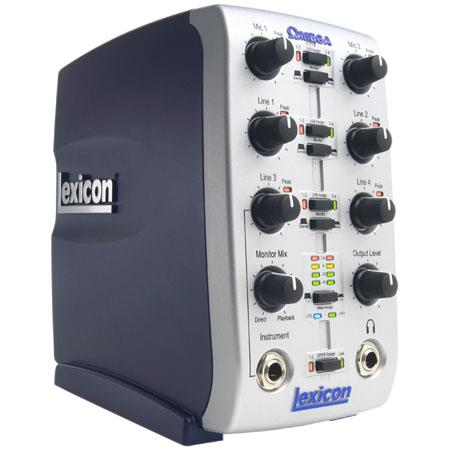 Lexicon OMEGADesktop Recording Studio Cubase Le and Pantheon Reverb Plug in 177 - 336