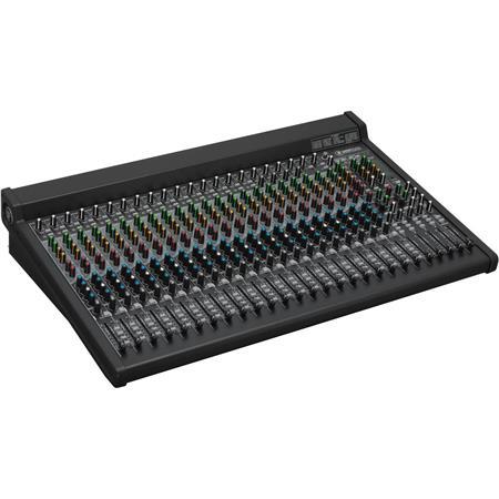 Mackie Channel Bus FX Mixer USB dB Dynamic Range kOhms Mic In Impedance 206 - 157