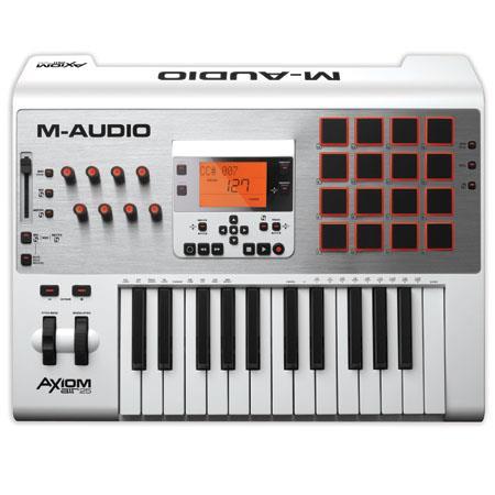 M audio Axiom Air Premium Keyboard and Pad Controller 262 - 179
