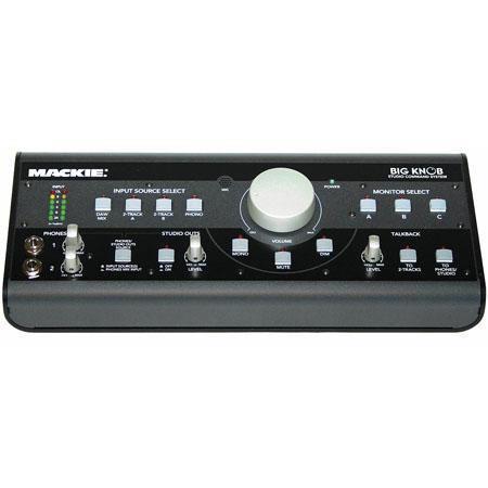 Mackie Big Knob Studio Command System Built Talkback Microphone 30 - 484
