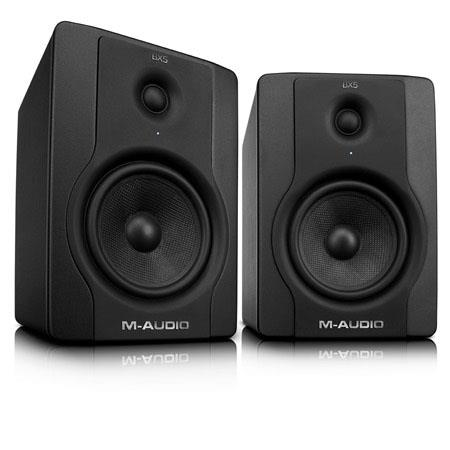 M Audio BX D Active W Way Studio Monitor Speakers Pair 30 - 484