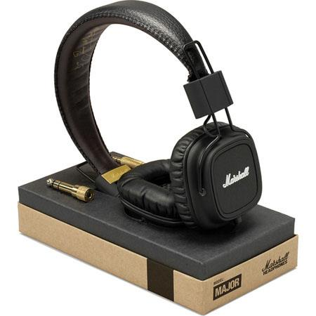 Marshall Audio Major OnEar Fully Collapsible Workhose Headphone SuperSoft Ear Cushion 175 - 19