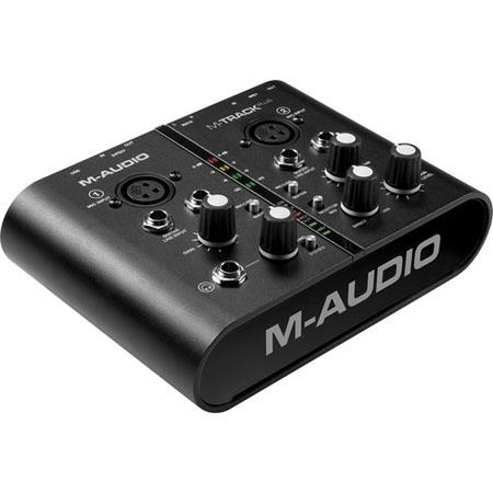 M Audio M Track Plus USB AudioMIDI Interface Avid Pro Tools Express 61 - 586