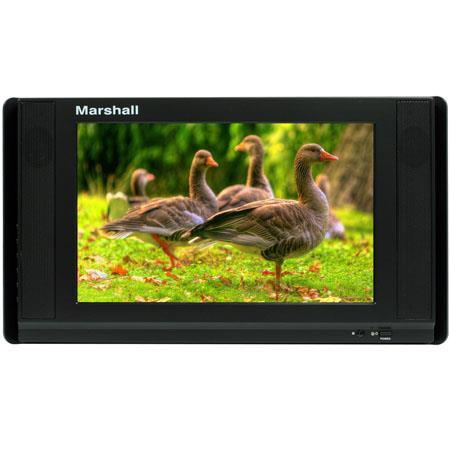 Marshall Portable LCD Monitor ATSCQAM TunerNTSC 114 - 635