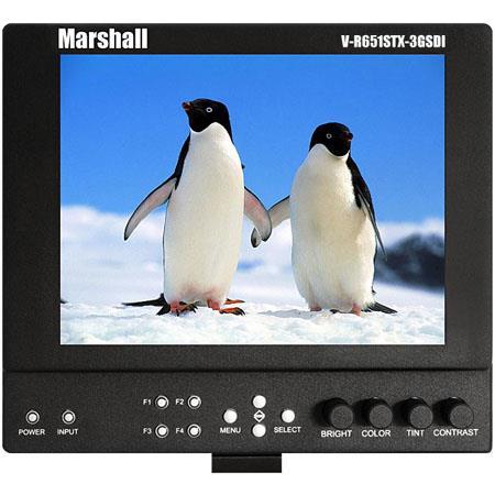 Marshall V LCDSTX GSDI SB High Resolution Super Transflective Portable Field Camera Top Monitor Sony 335 - 763