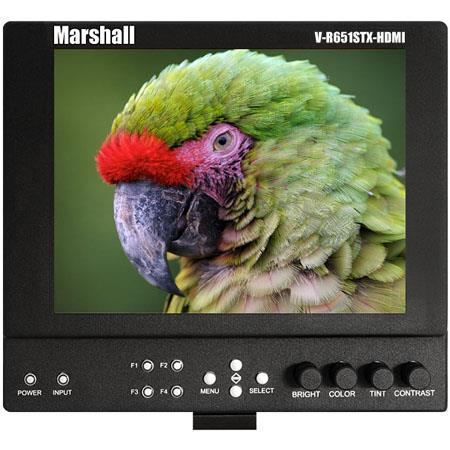 Marshall V LCDSTX HDMI CM High Resolution Super Transflective Portable Field Camera Top Monitor Cano 82 - 712