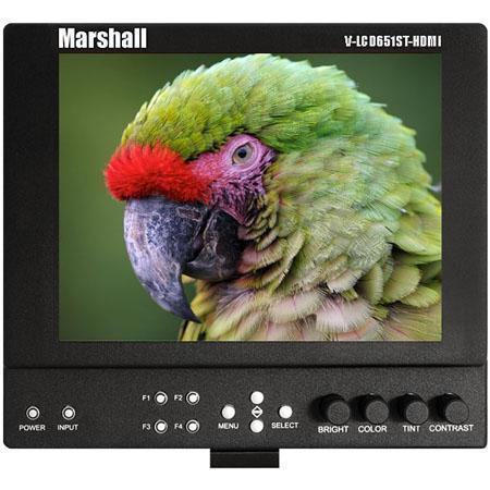 Marshall V LCDST HDMI PM Lightweight High Resolution Super Transflective Portable Field Camera Top M 347 - 141