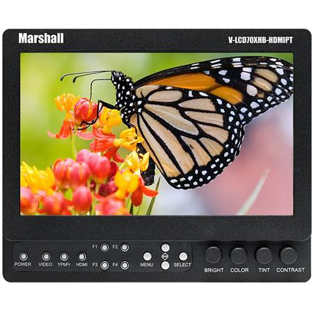 Marshall High Brightness FieldCamera Top LCD Monitor Composite Component and HDMI Inputs No Battery  66 - 138