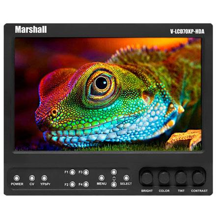 Marshall On Camera Monitor Composite and Component Inputs Canon Battery Mount 18 - 243