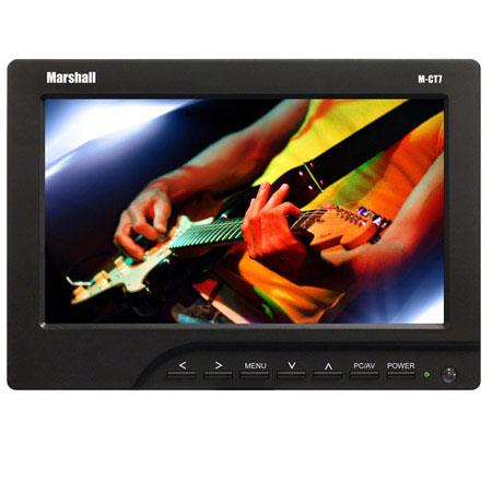 Marshall M CT Portable Camera Top Field Monitor AA Battery PlateNative ResolutionComposite Video Inp 146 - 217