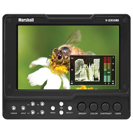 Marshall V LCDMD HDMI Monitor SDI Input ModuleResolution Nit Brightness Aspect Ratio 85 - 494
