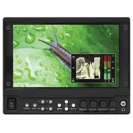 Marshall V LCDMD O On Camera Monitor Output Module Two G HDSDI OutputsResolution Manual Gamma Adjust 85 - 705