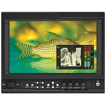 Marshall V LCDMD G On Camera LCD Monitor HDMI and G SDI Input Module Contrast Ratio Nit BrightnessRe 242 - 307