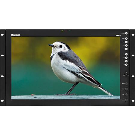 Marshall Electronics V MD p Full Resolution LCD Monitor Modular Inputs RU cdm Brightness Contrast As 163 - 90